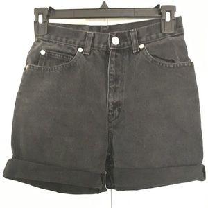 Black Jean Shorts Fashionable
